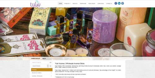 Tulsi Trading Incense savour the sweet smell of success with the launch of their upgraded MYOB AccountRight integrated eCommerce website