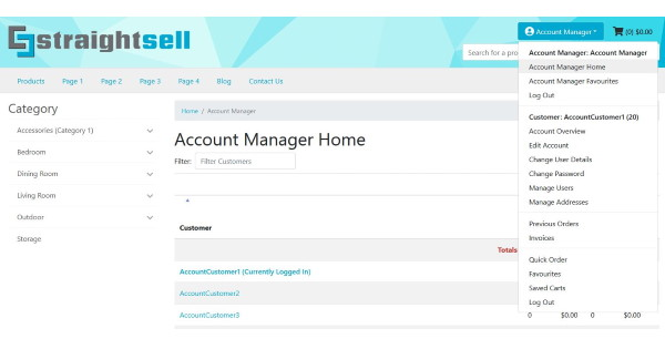 Account Manager Login