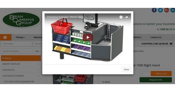 Product Videos, Video Player Image