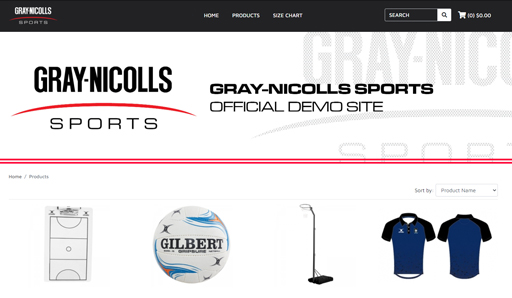 Gray-Nicolls Sports team up with Straightsell to launch their upgraded Teamwear Shops white-label eCommerce platform