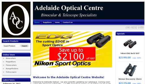 Adelaide Optical