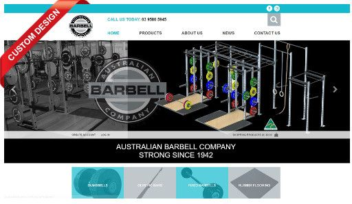 The Australian Barbell Company are pumped about their new MYOB AccountRight integrated Straightsell eCommerce website!