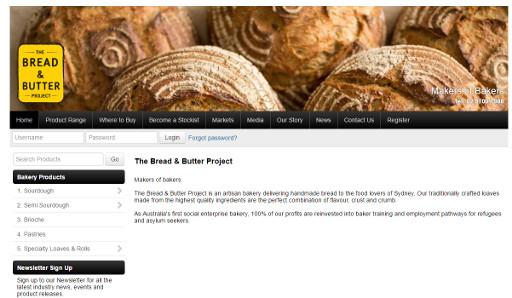 The Bread And Butter Project