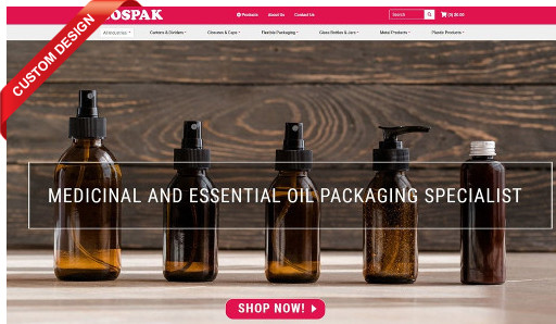 Cospak wrap up the project and launch their new eCommerce webstore integrated with SAP Business One version for SAP HANA