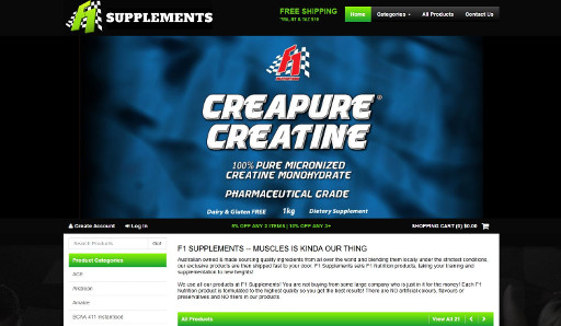 F1 Supplements