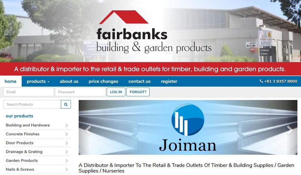 Fairbanks Building and Garden Products