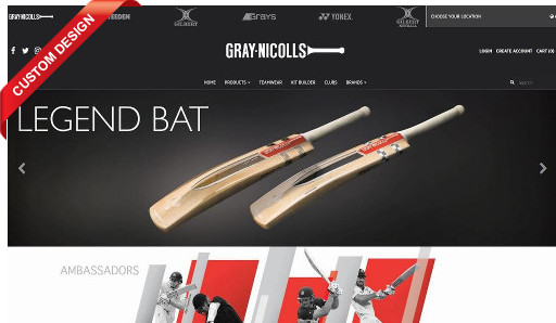 Gray-Nicolls Sports B2C AUS
