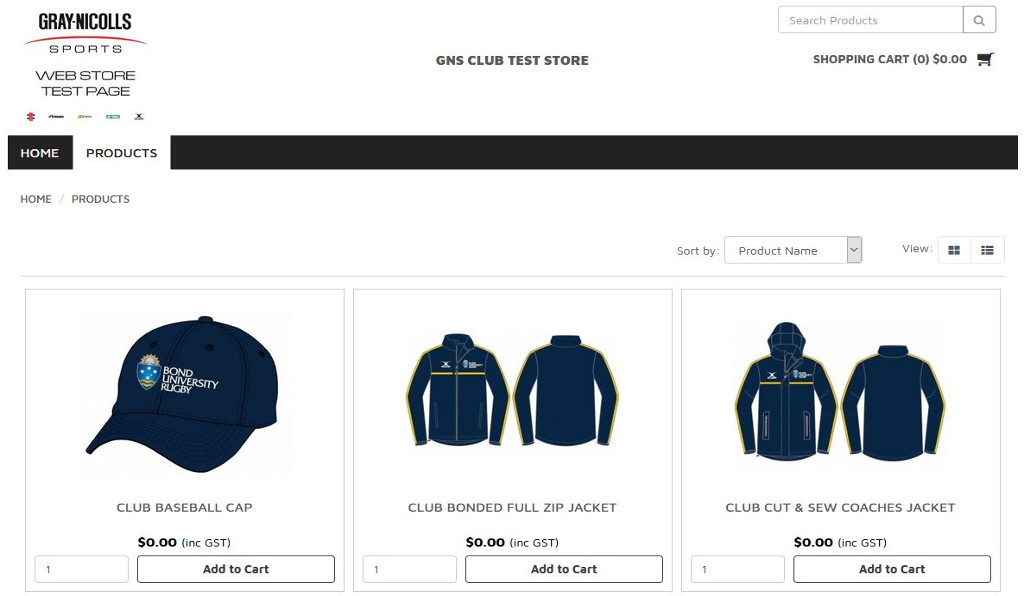 Gray-Nicolls Sports shows they are team players with the launch of their new SAP Business One integrated Teamwear Shops white-label eCommerce platform for sports clubs and schools