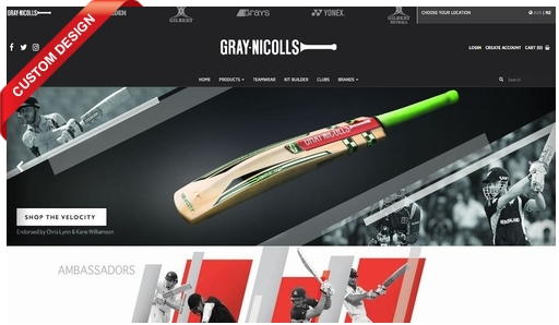 Gray-Nicolls Sports declared the innings with the launch of their SAP Business One integrated B2C eCommerce website for New Zealand!