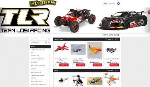 The Hobbyman make a perfect landing with the launch the their new look Straightsell eCommerce website and text file integration