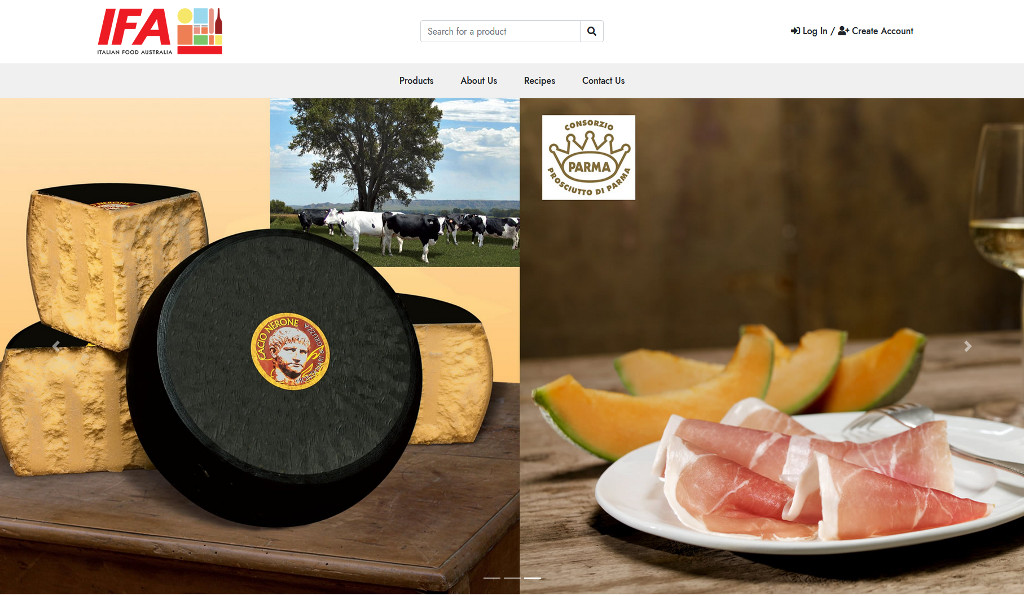 Italian Food Australia are very satisfied with the launch of their new eCommerce webstore integrated with Reckon Accounts Hosted