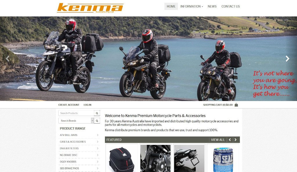 Kenma Australia races to launch their new SAP Business One integrated eCommerce website for retail and wholesale customers!