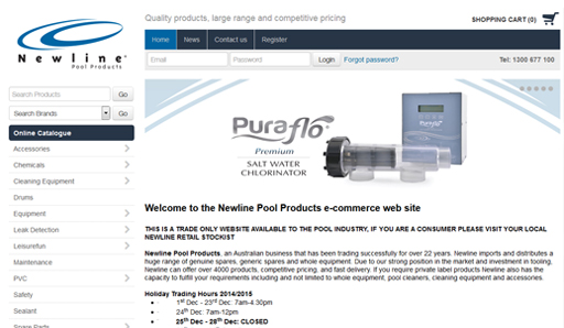 Newline Pool Products