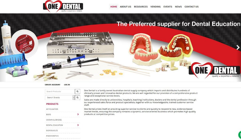 One Dental are smiling about the launch of their new SAP Business One integrated eCommerce website!