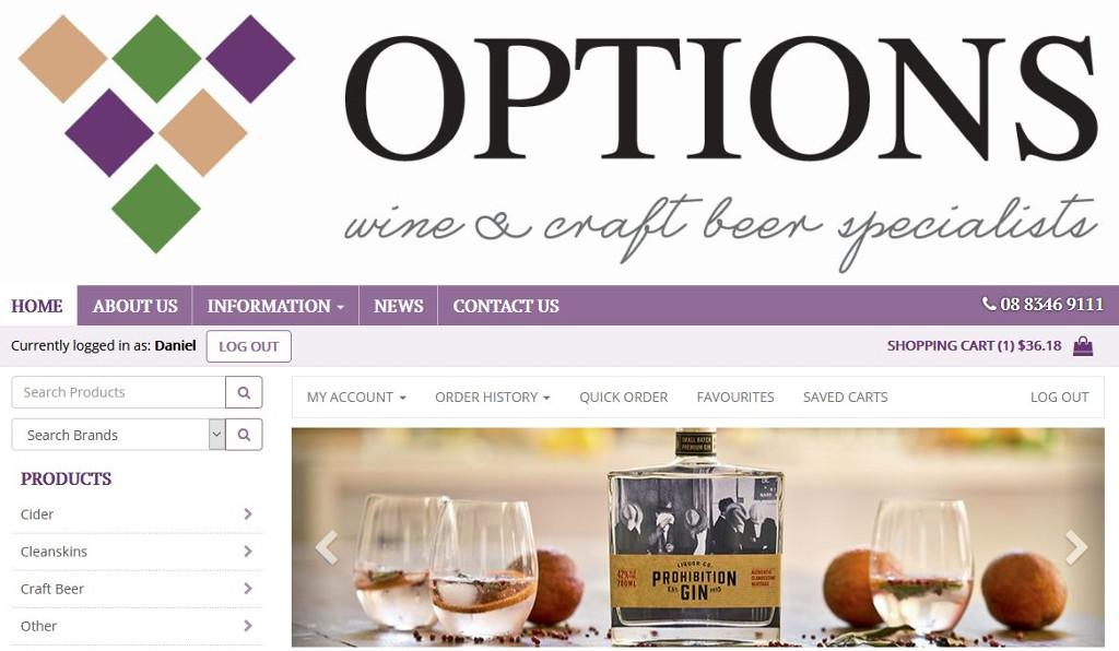 Options Wines