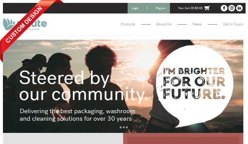 Salute grabs everyone's attention with the launch of their rebranded MYOB Exo integrated eCommerce webstore