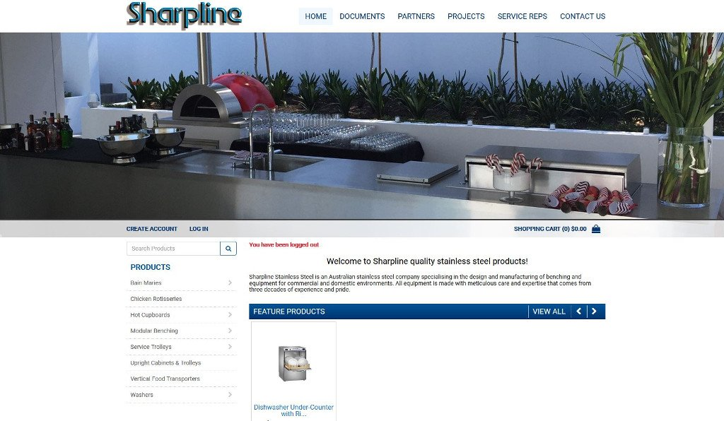 Sharpline Stainless Steel