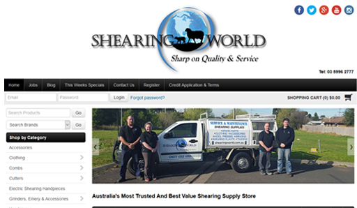 Shearing World
