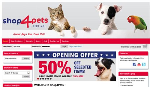 Shop 4 Pets
