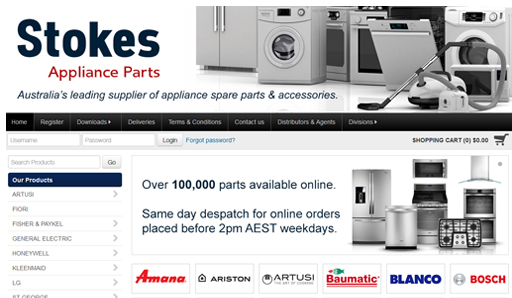 Stokes Appliance Parts