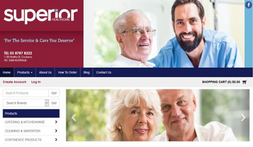 Superior Health Care Australia wraps upgrade to MYOB Exo integrated B2C and B2B online store!