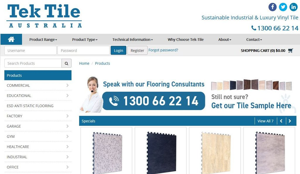 Everything fits neatly into place with the launch of the new Brian Cummins Group Tek Tile Australia website