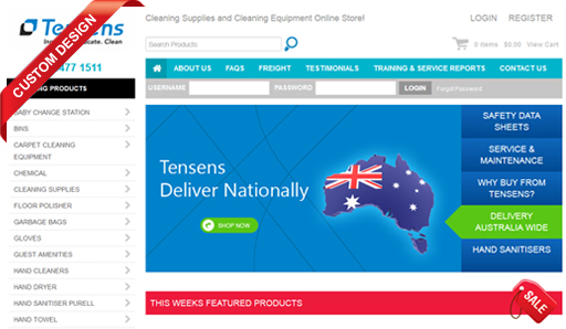 Tensens Cleaning Equipment & Supplies