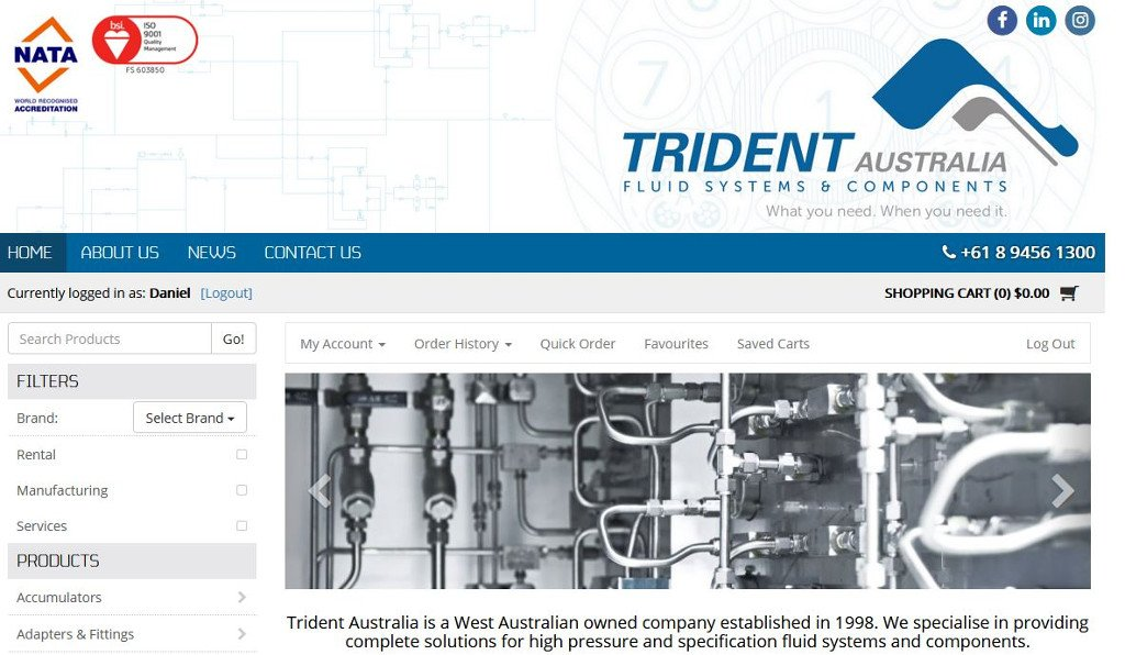 The pressure is off now that the new Trident Australia website has launched