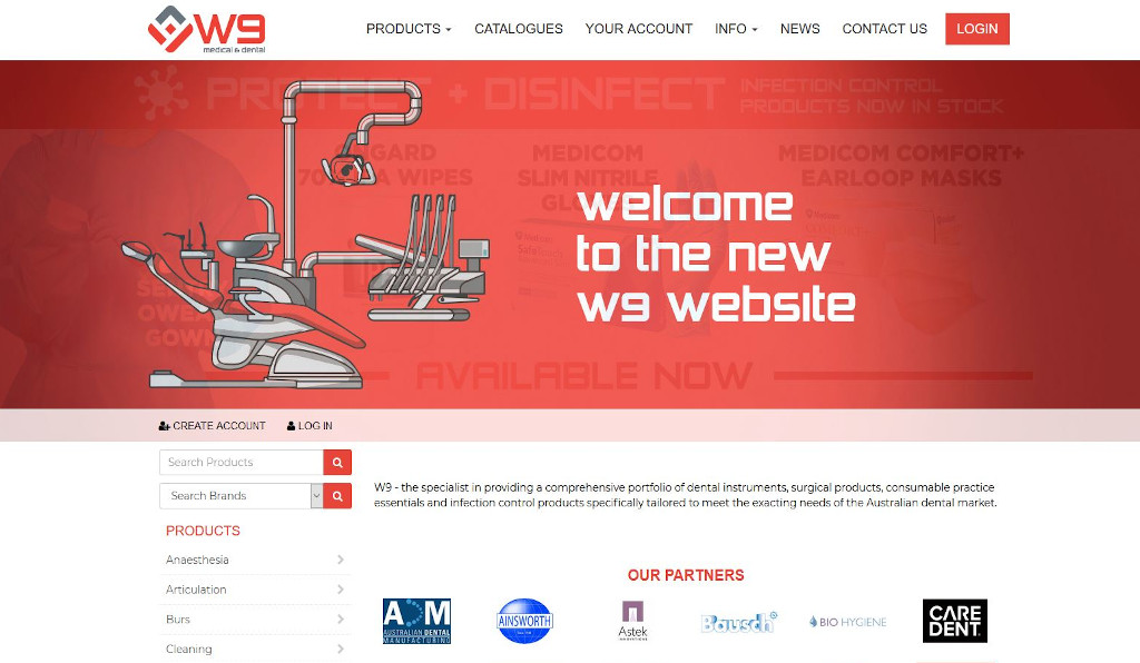 More dental work was needed for W9 Group who have launched their new Straightsell eCommerce webstore integrated with SAP Business One